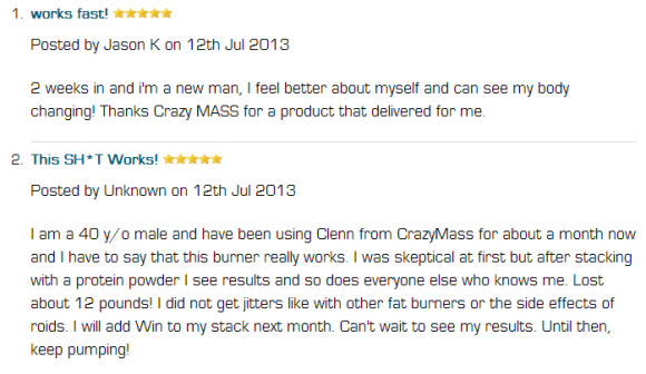 Clenn Max Customer Reviews