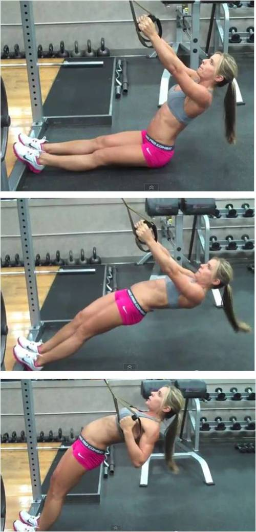 TRX Total Body Workout - Legs, Chest, Back, Arms